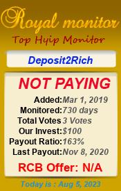 ссылка на мониторинг http://royalmonitor.com/?a=details&lid=7398