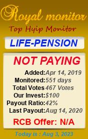 ссылка на мониторинг http://royalmonitor.com/?a=details&lid=7527